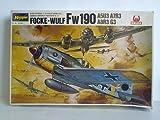 Focke-Wulf Fw 190. A5U3 / A7R3 / A8R3 / G3. German Airforce Fighter (W.W.II), 1/32