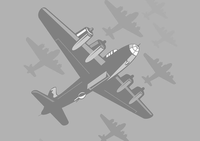 B-17 Bomber Flying Fortress – The Queen Of The Skies 44-6166 / The Red – Red Ass, The Devil Himself