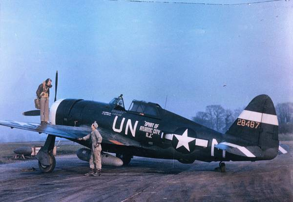 P-47D Thunderbolt // Wikipedia Commons [Public Domain]