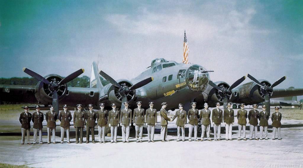 B-17E im Flug // Wikipedia Commons [Public Domain]