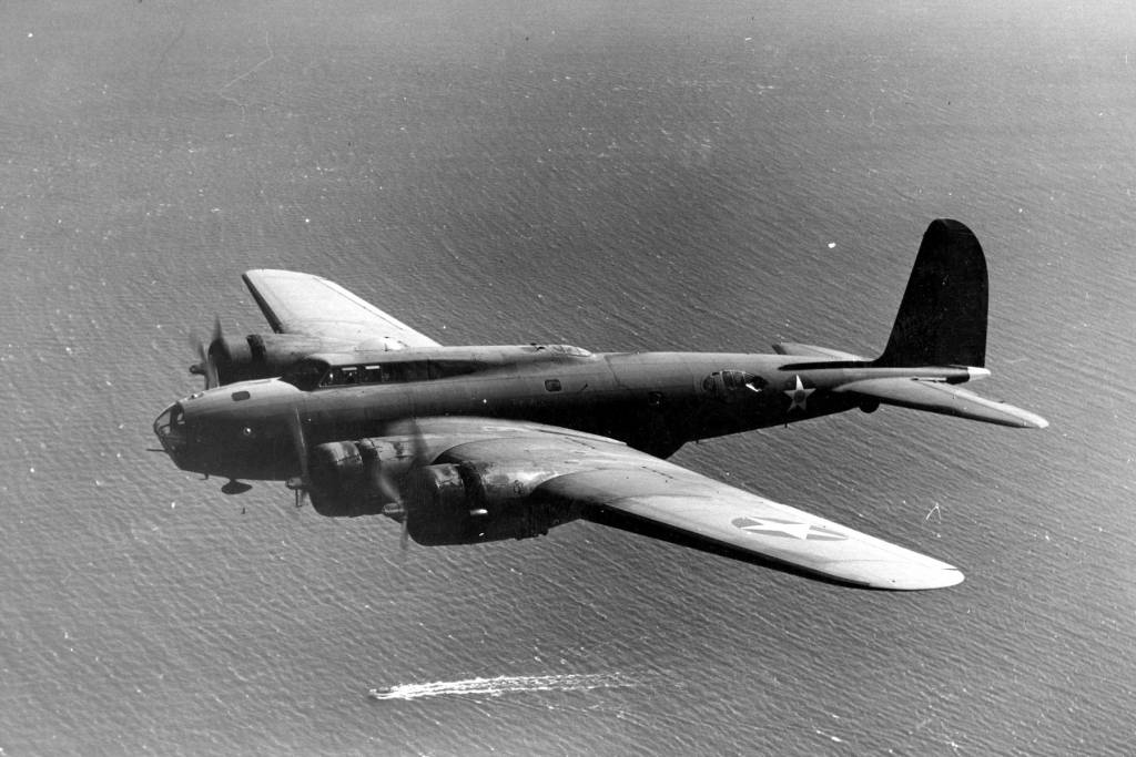 Boeing B-17D // Wikipedia Commons [Public Domain]