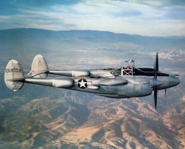 P-38 Lightning // Wikipedia Commons [Public Domain]