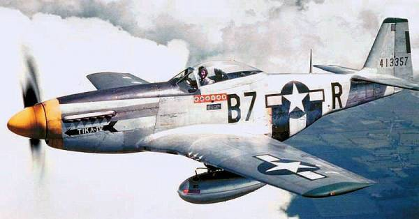P-51D Mustang // Wikipedia Commons [Public Domain]