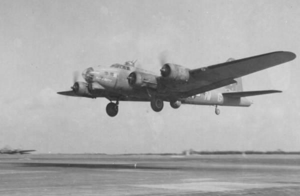 B-17 #42-39847 / Battlin' Betty