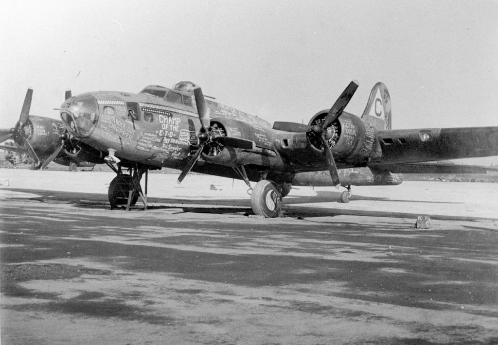 B-17 #41-24605 / Knock-out Dropper