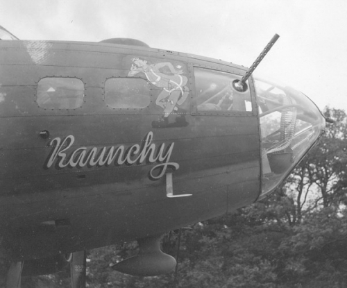 B-17 #42-30057 / Raunchy