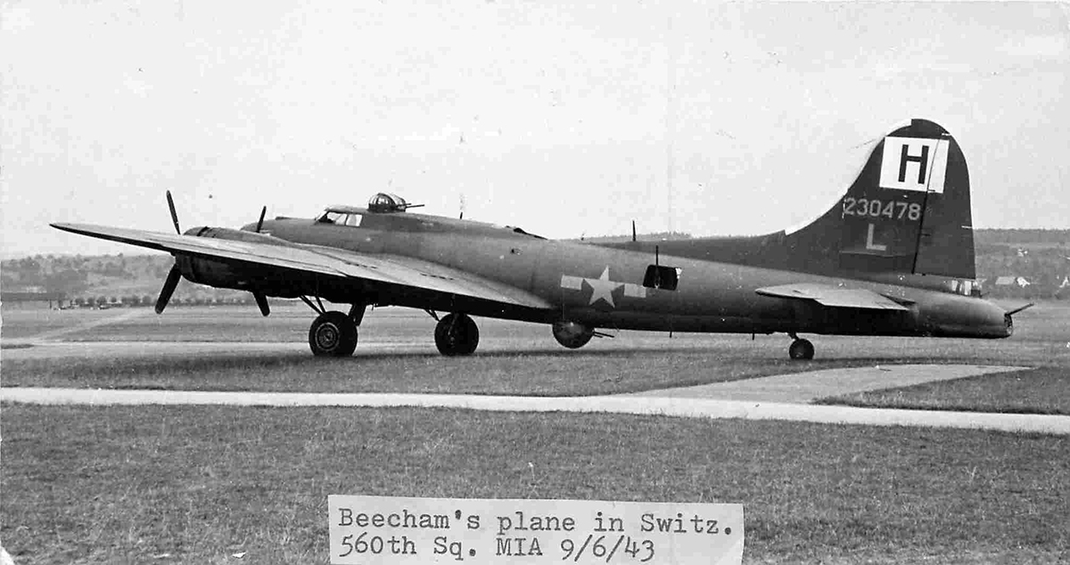 B-17 #42-30478 / Impatient Virgin II