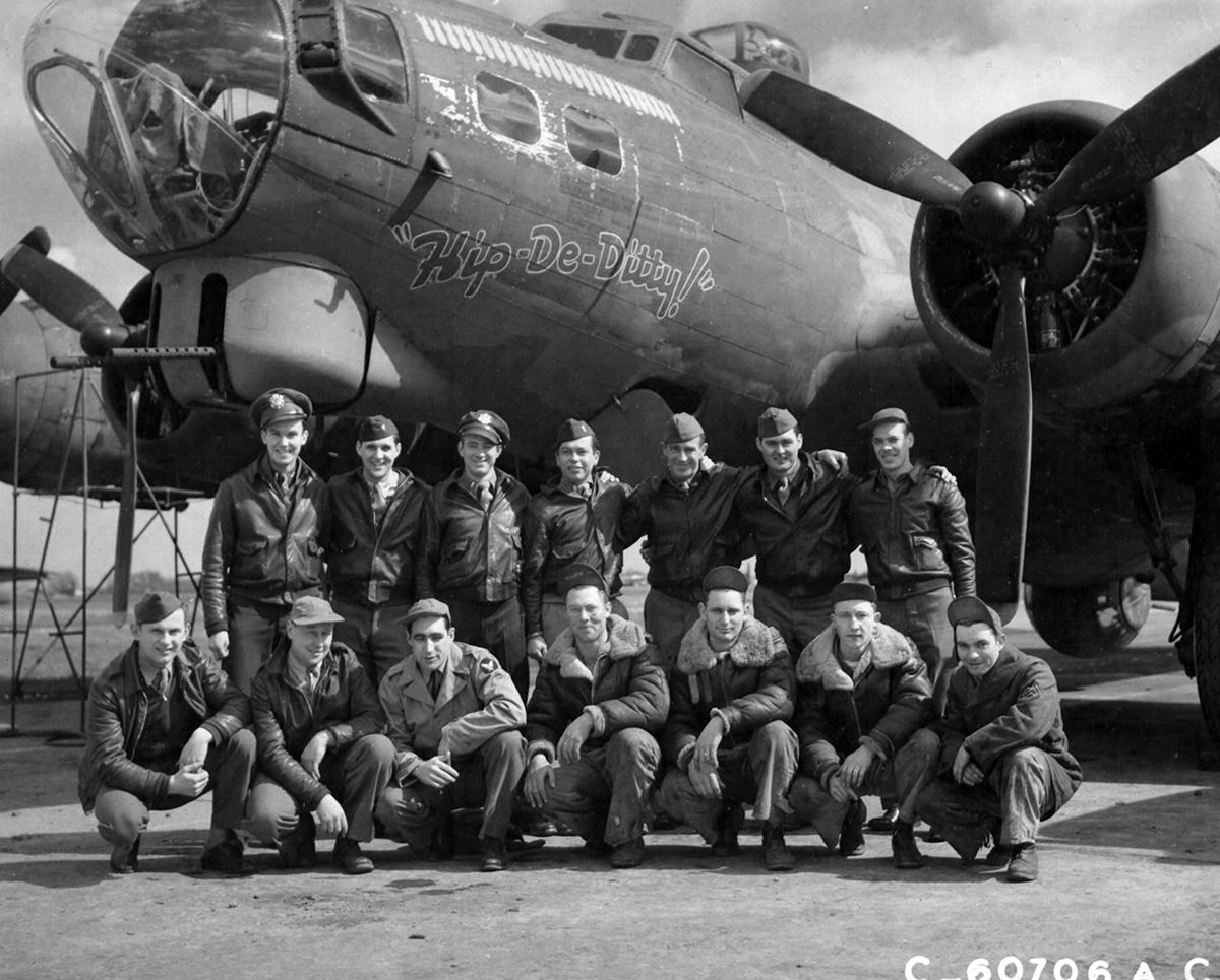 B-17 #42-31427 / Hip-De-Ditty!