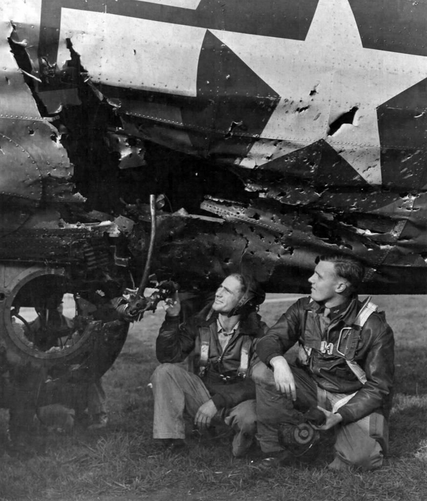B-17 #42-97880 / Little Miss Mischief - 15 October 1944