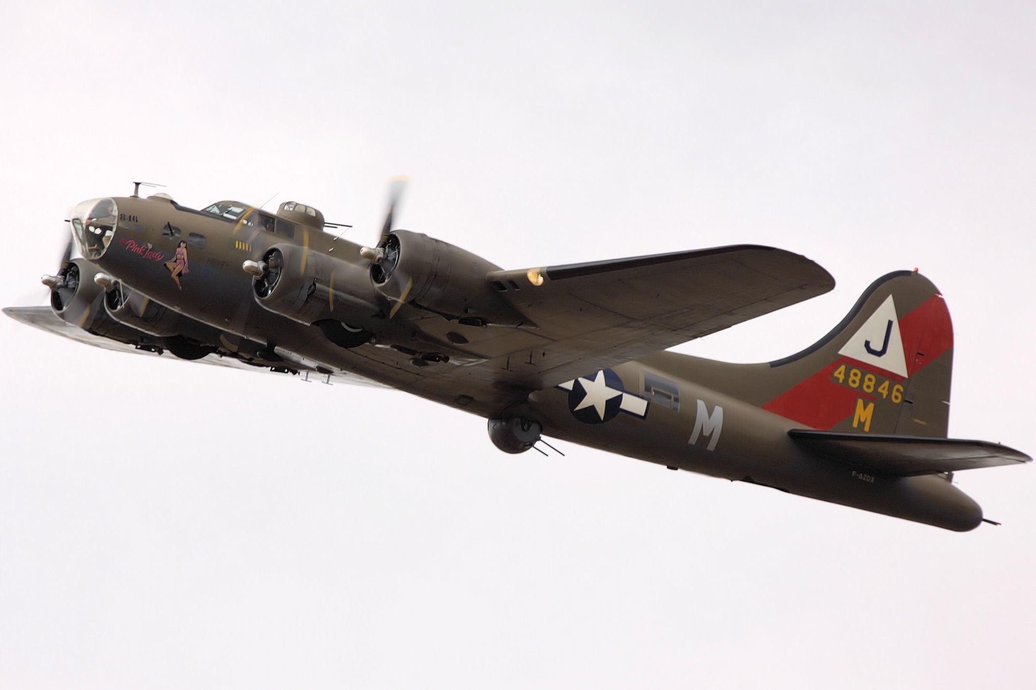 B-17 #44-8846 / Pink Lady aka Mother & Country