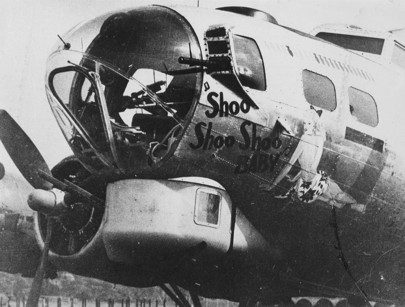 B-17 #42-32076 / Shoo Shoo Shoo Baby