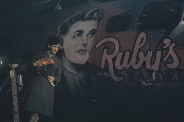 B-17 #44-6483 / Ruby's Raiders