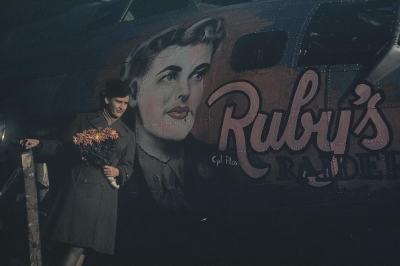 B-17 #44-6483 / Ruby's Raiders