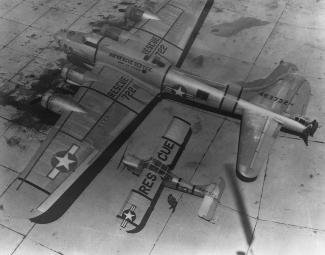 B-17 #44-83722