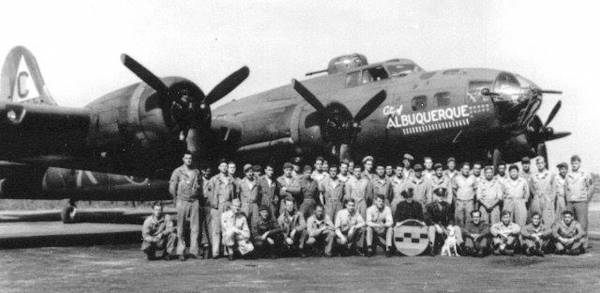 B-17 #42-5392 / City of Albuquerque aka Stric Nine