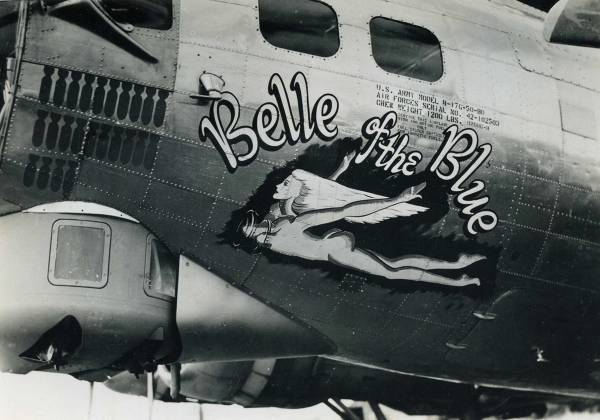 B-17 #42-102503 / Belle of the Blue