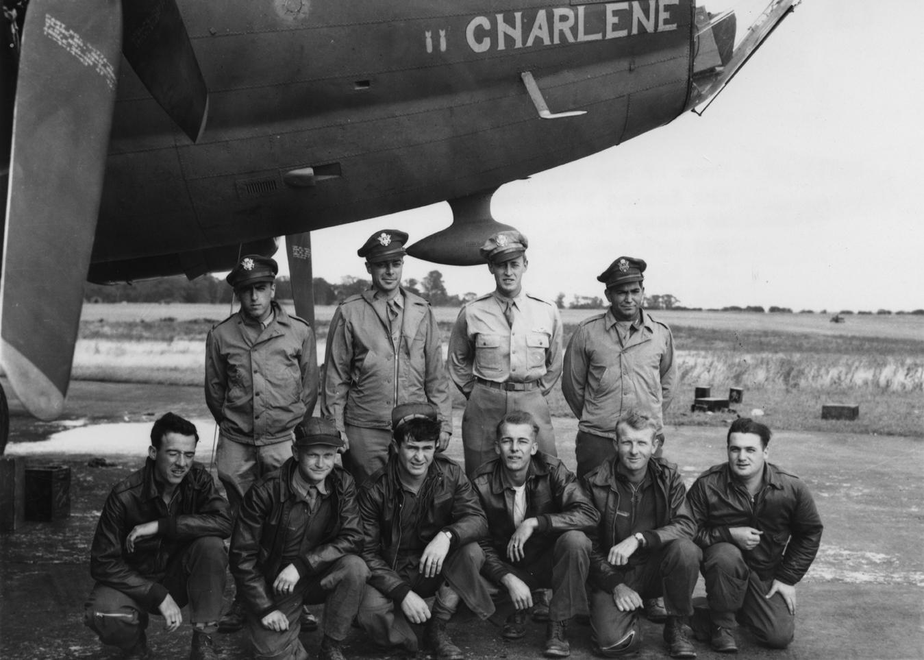 B-17 #42-30177 / Charlene aka BIR-HACKEIM