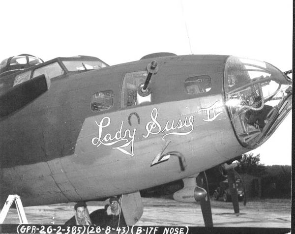 B-17 #42-30257 / Lady Susie II