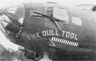 B-17 #42-30289 / The Dull Tool aka The Douche Bag