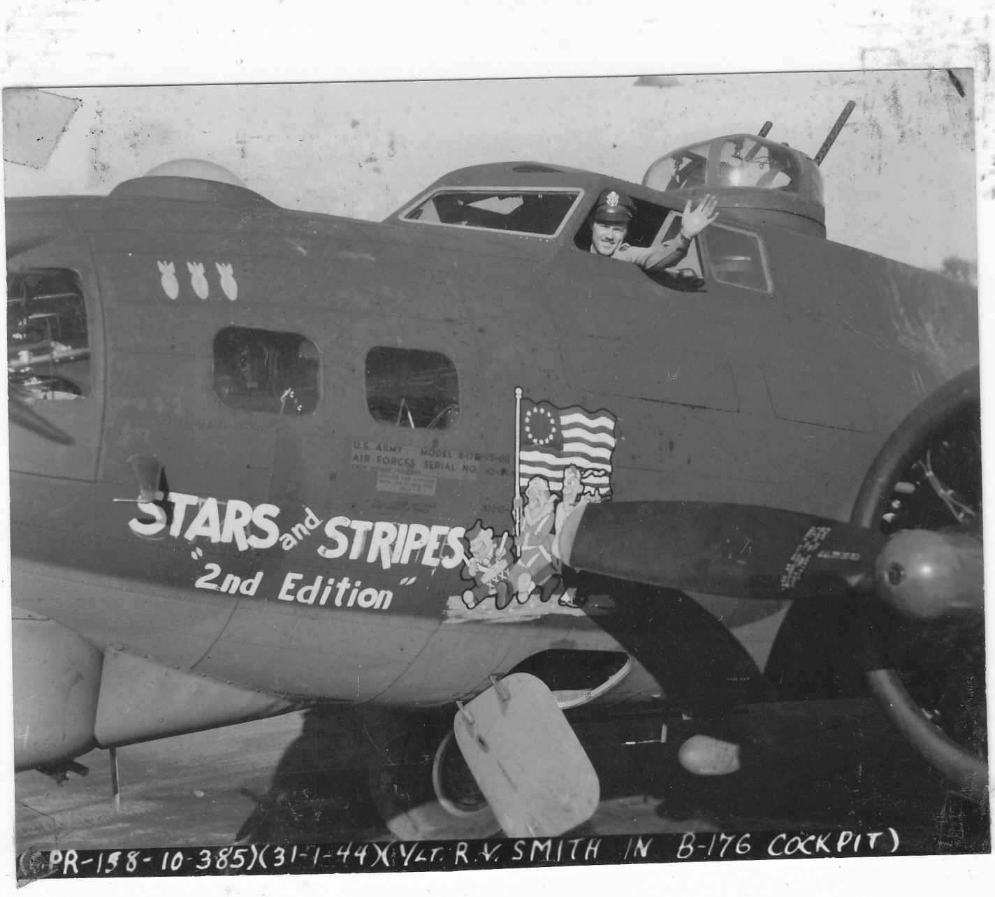 "B-17 #42-31349 / Stars & Stripes ""2nd Edition"""