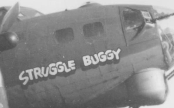 B-17 #42-37876 / Struggle Bunny aka Batcha's Patches aka Miss Raps-O-Dee