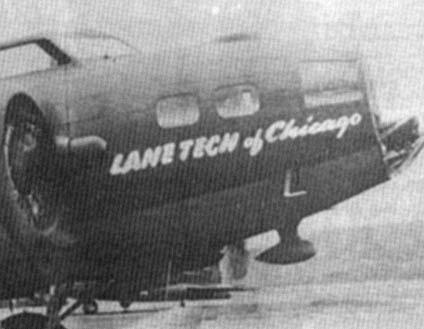 B-17 #42-39856 / Lane Tech Of Chicago aka  Wacky Woody