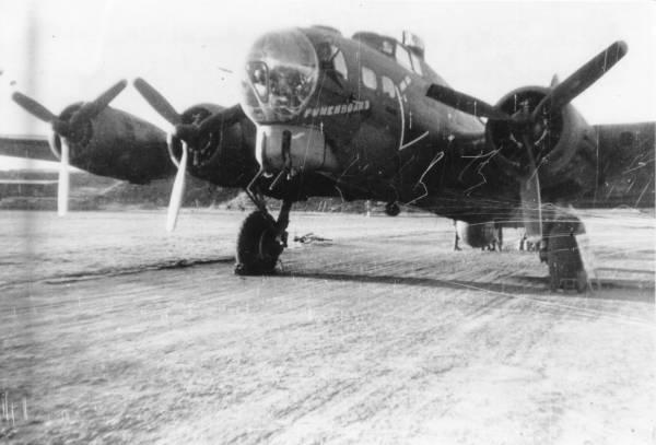 B-17 #42-39974 / Punchboard