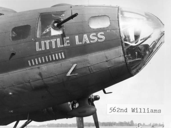 B-17 #42-5898 / Little Lass