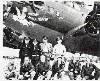 B-17 #42-5907 / Wing and a Prayer