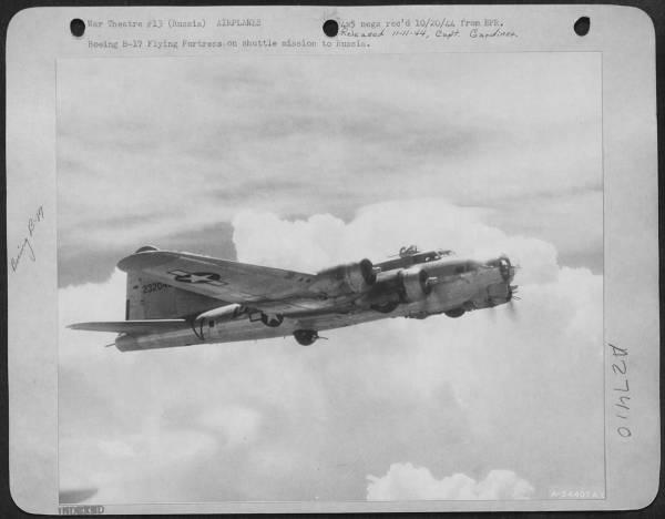 B-17 #42-32048 / Queen
