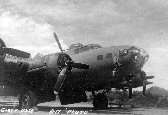 B-17 #41-24384 / Snoopy aka Pluto