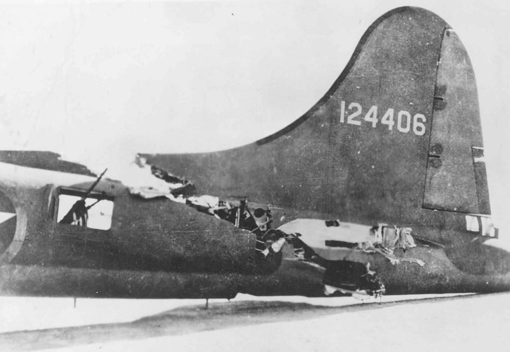 B-17 #41-24406 'All American'