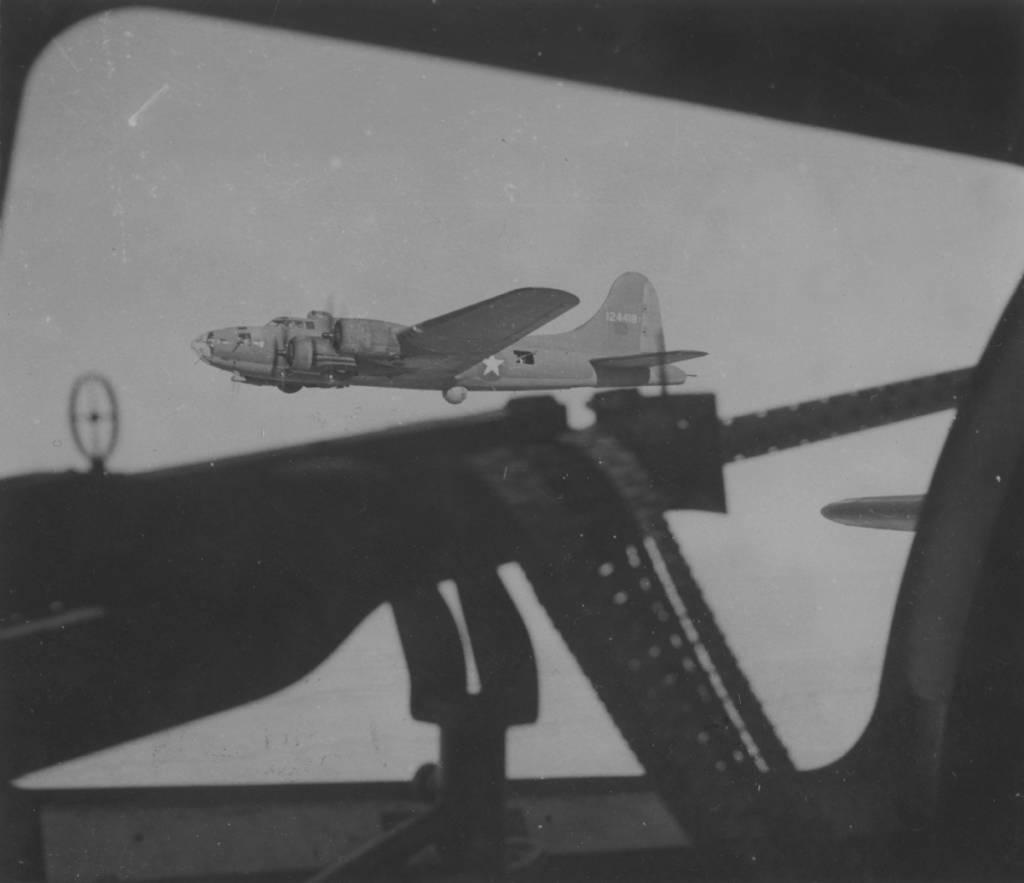 B-17 #41-24418 'Mickey Finn' aka 'Special Delivery II'