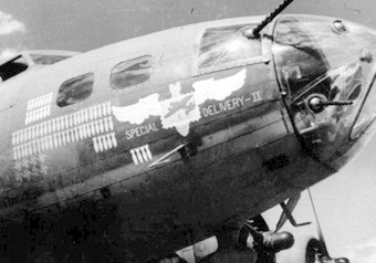 B-17 #41-24418 / Mickey Finn aka Special Delivery II