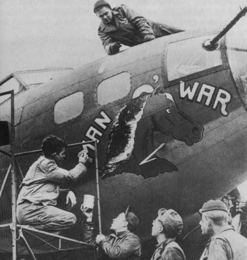 B-17 #41-24486 / Man O' War