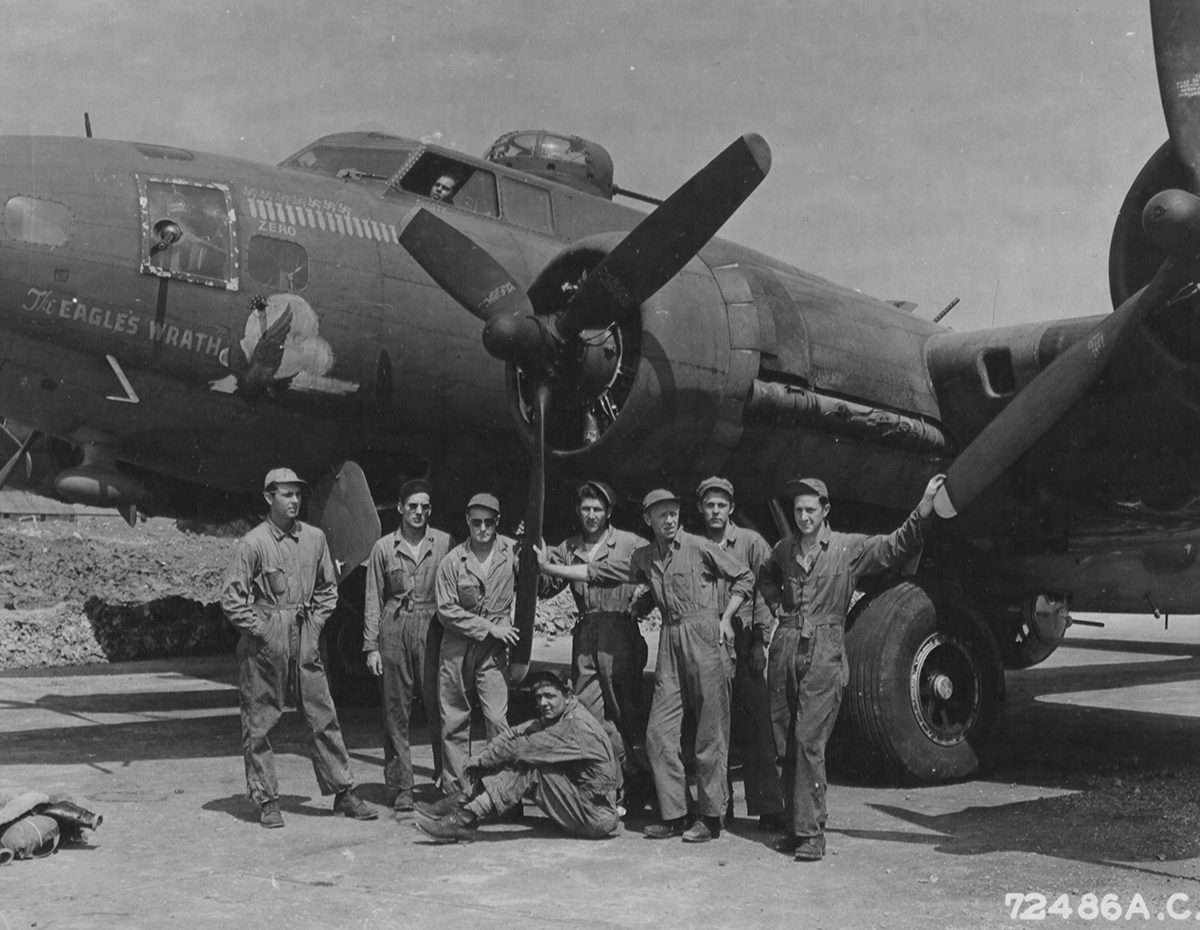 B-17 #41-24524 / The Eagle's Wrath