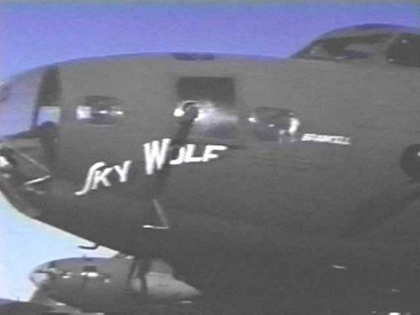 B-17 #41-24562 / Sky Wolf