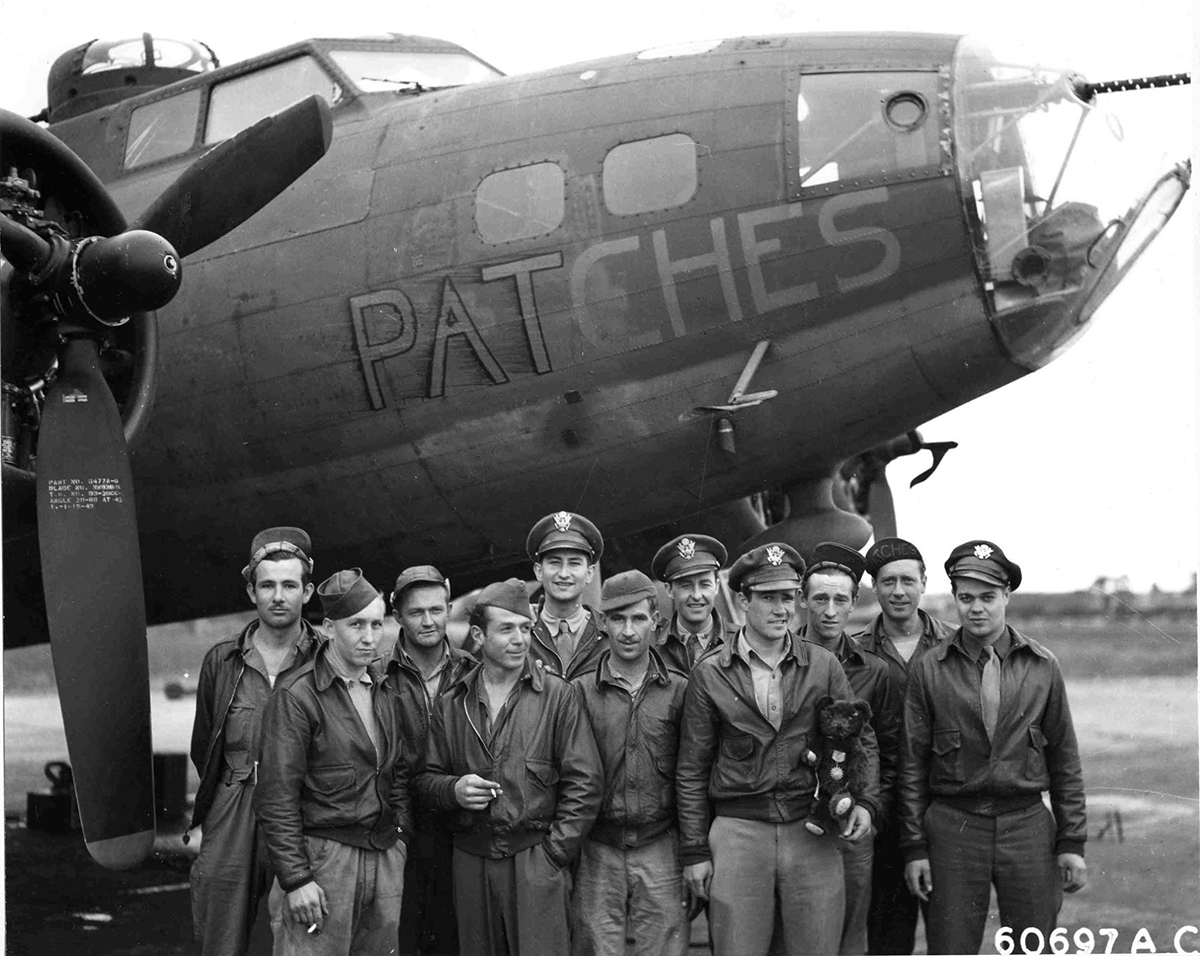 B-17 #41-24564 / Patches