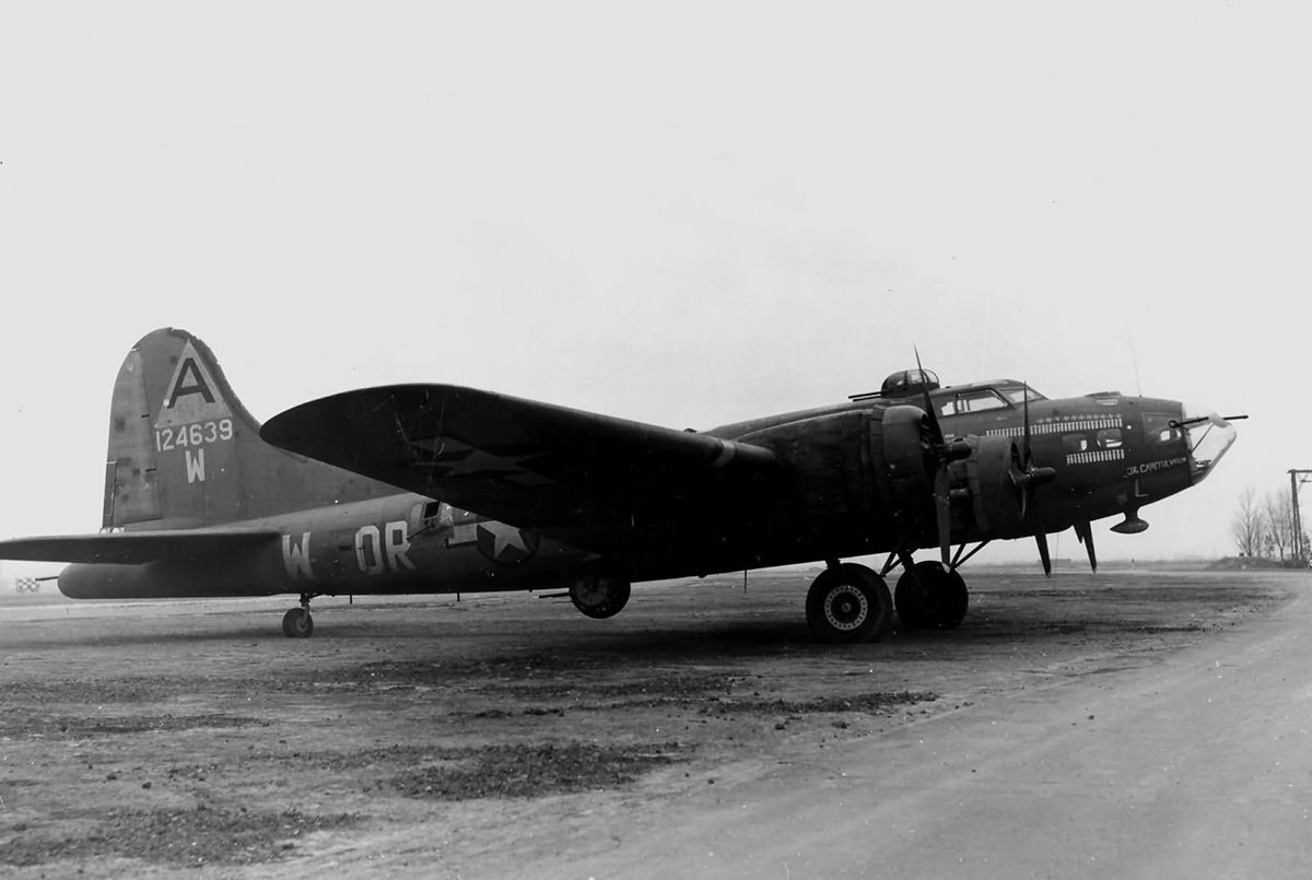 B-17 #41-24639 / The Careful Virgin
