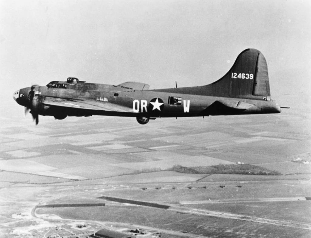B-17 #41-24639 'The Careful Virgin'