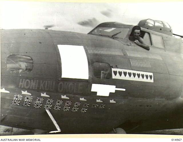 B-17 #41-9244 / Honi Kuu Okole