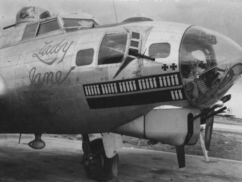 B-17 #42-107009 / Lady Jane