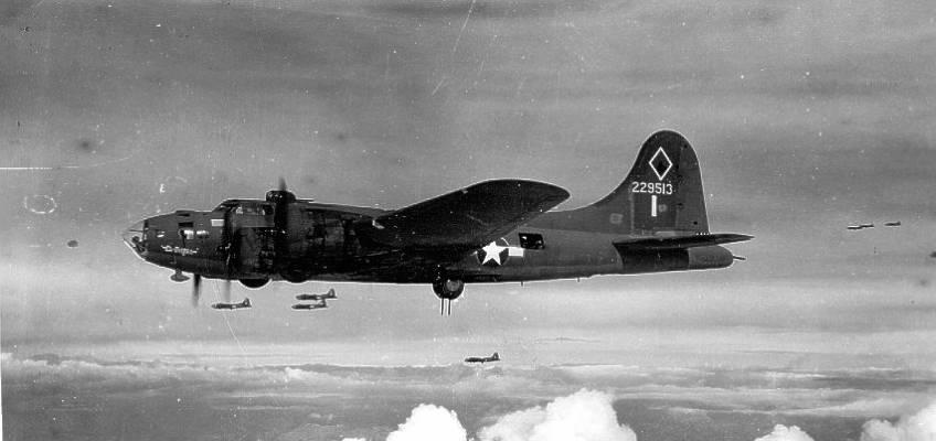 Boeing B-17 #42-29513 / El Diablo