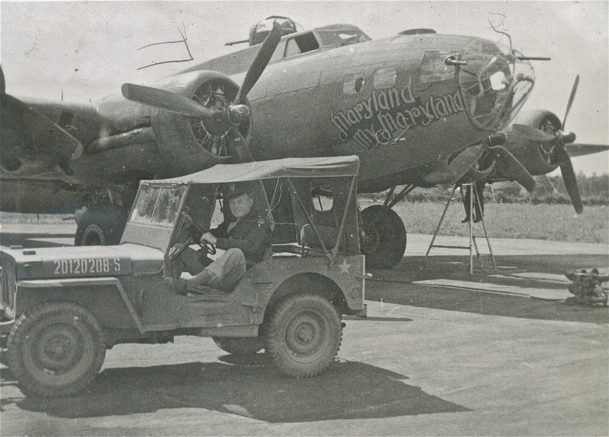B-17 #42-29554 / Maryland My Maryland