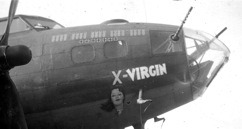 B-17 #42-29636 / Vanishing Virgin aka X-Virgin