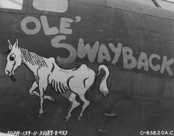 B-17 #42-29731 / Moore-Fidite aka Ol' Swayback