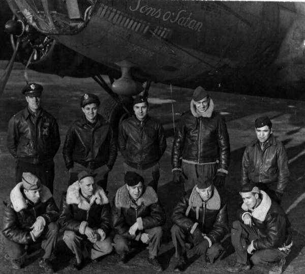 B-17 #42-29829 / Sons O' Satan