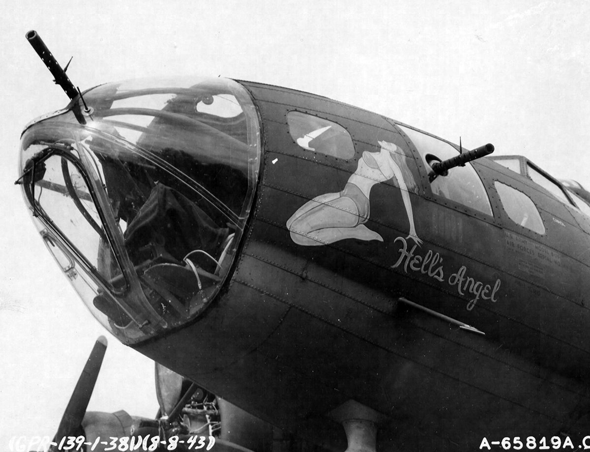 B-17 #42-29978 / Hell's Angel