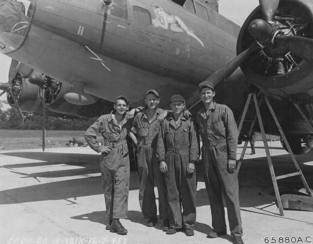 B-17 #42-30028 / Great In Lani / Sweet Is (Le) Lani