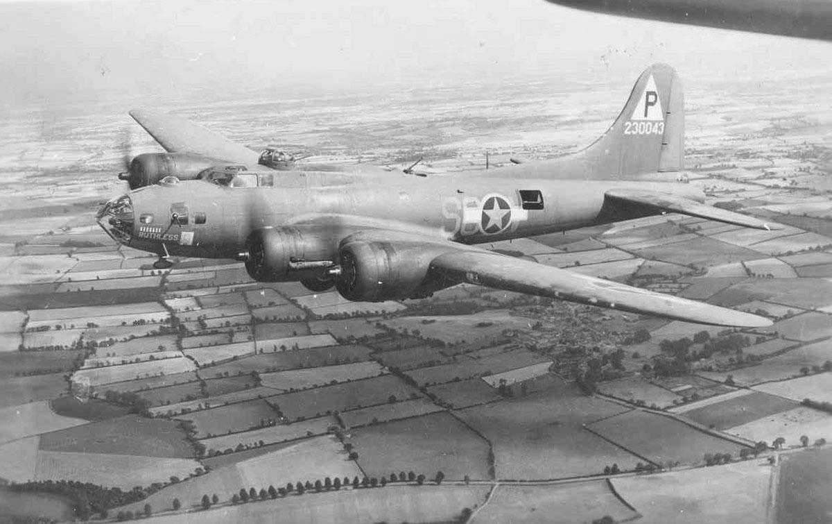 B-17 #42-30043 / Ruthless
